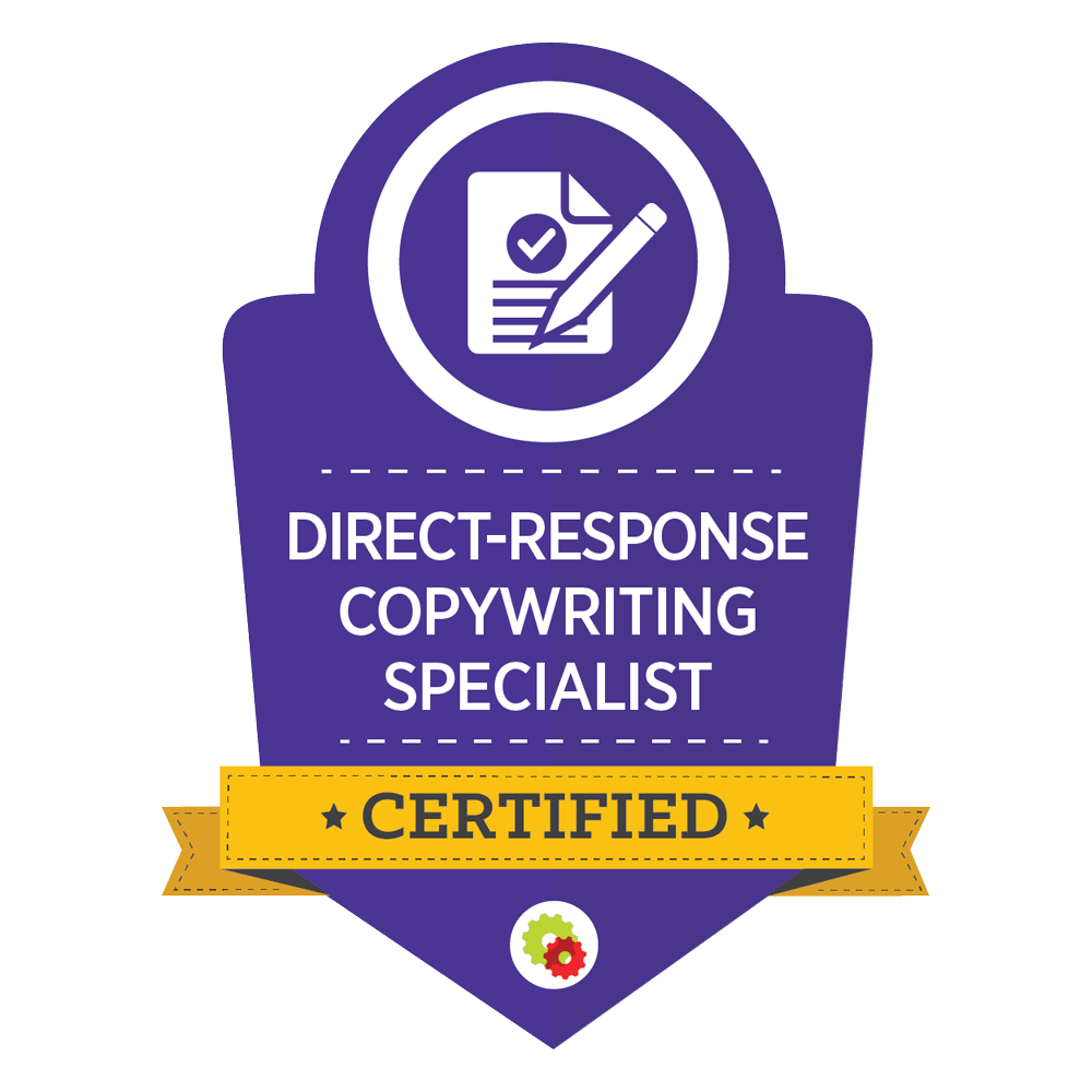 direct response copywriting specialist certification