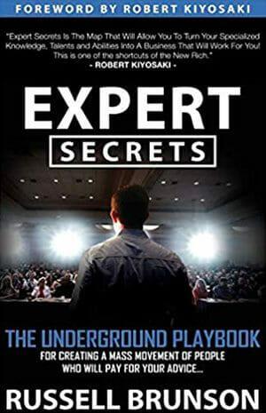 expert secrets book written by russell brunson